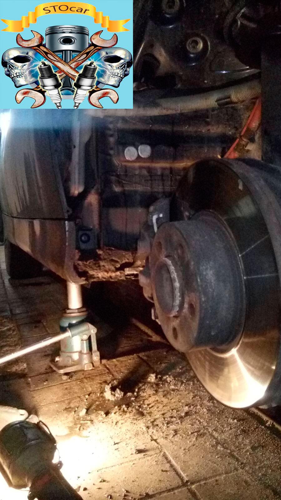 Ремонт системы омывателя ветрового стекла на БМВ 318