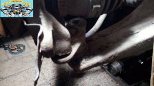Замена переднего подшипника ступицы KIA Rio 1.4 16 valve