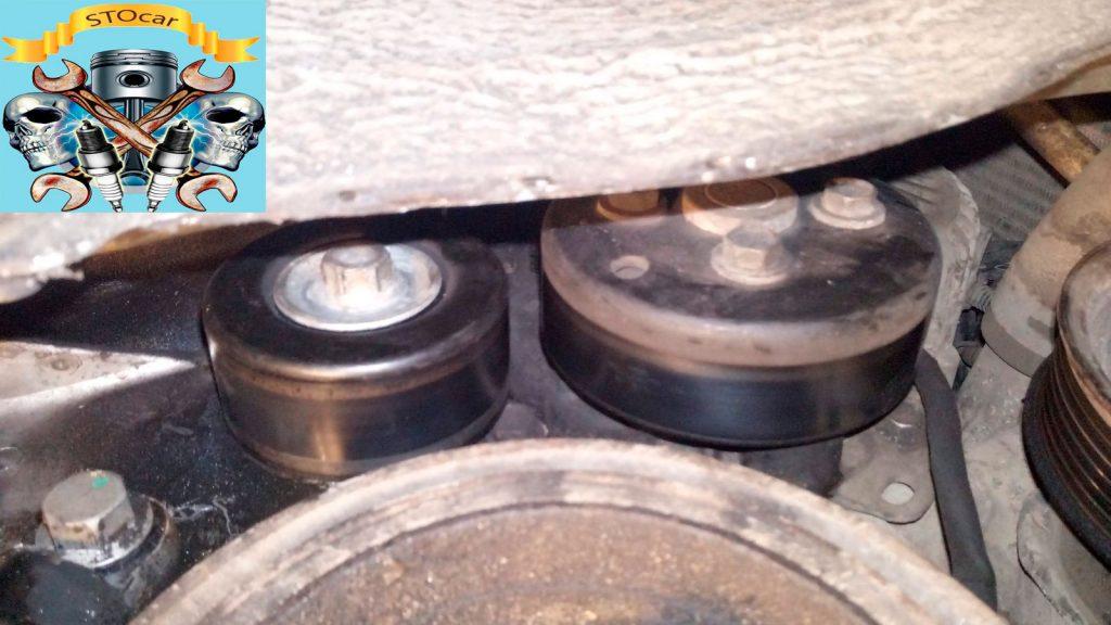 Замена приводного ремня,с натяжным устройством в сборе. Toyota Rav 4 2.0 vvti