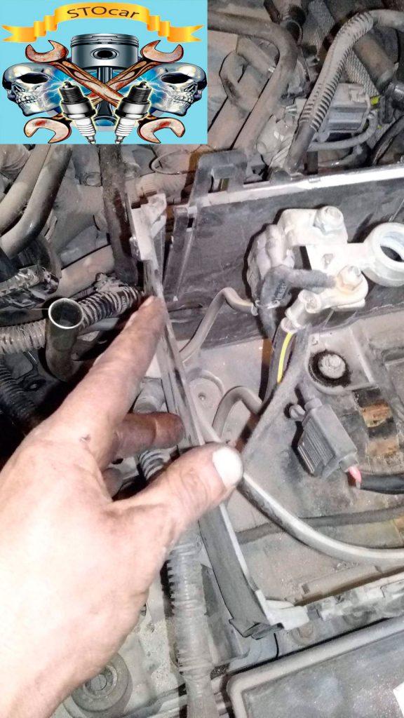 Замена заднего сальника коленвала Мазда 3 1.6 16 valve, со снятием АКПП