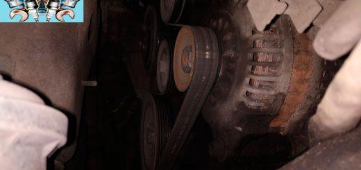 Как снять генератор Opel Astra h 1.7 дизель сто Стокар