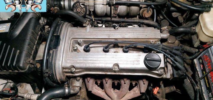 Замена прокладки клапанной крышки Деу Нубира 1.6 16 клапанов