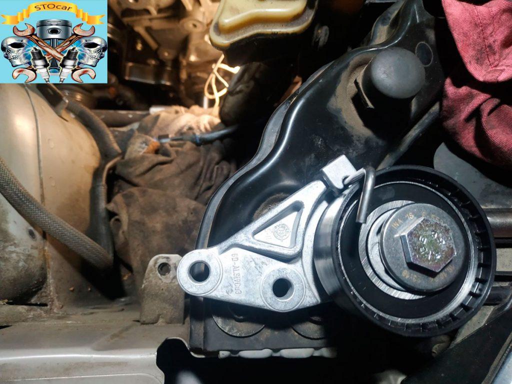 Замена ремня ГРМ+ помпа+ сальники Форд Фьюжн 1.6 16 клапанов