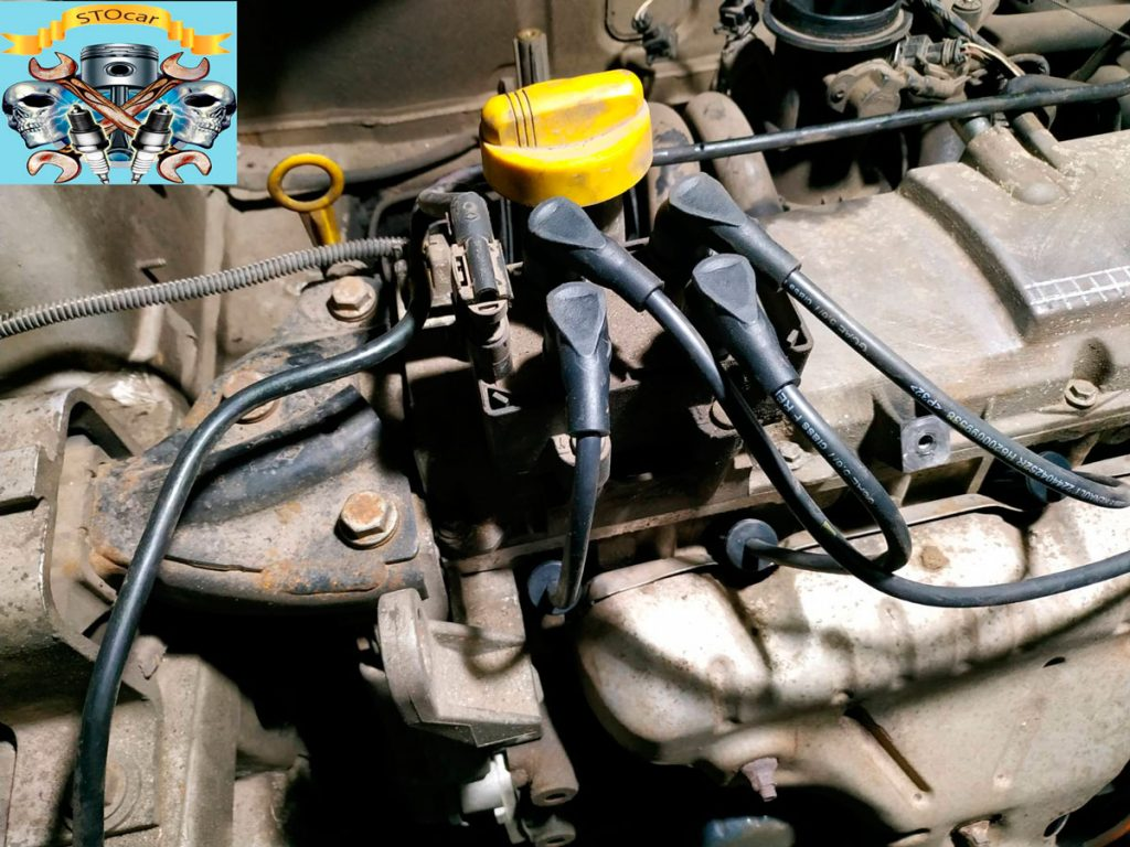 Дача Логан двигатель 1.4