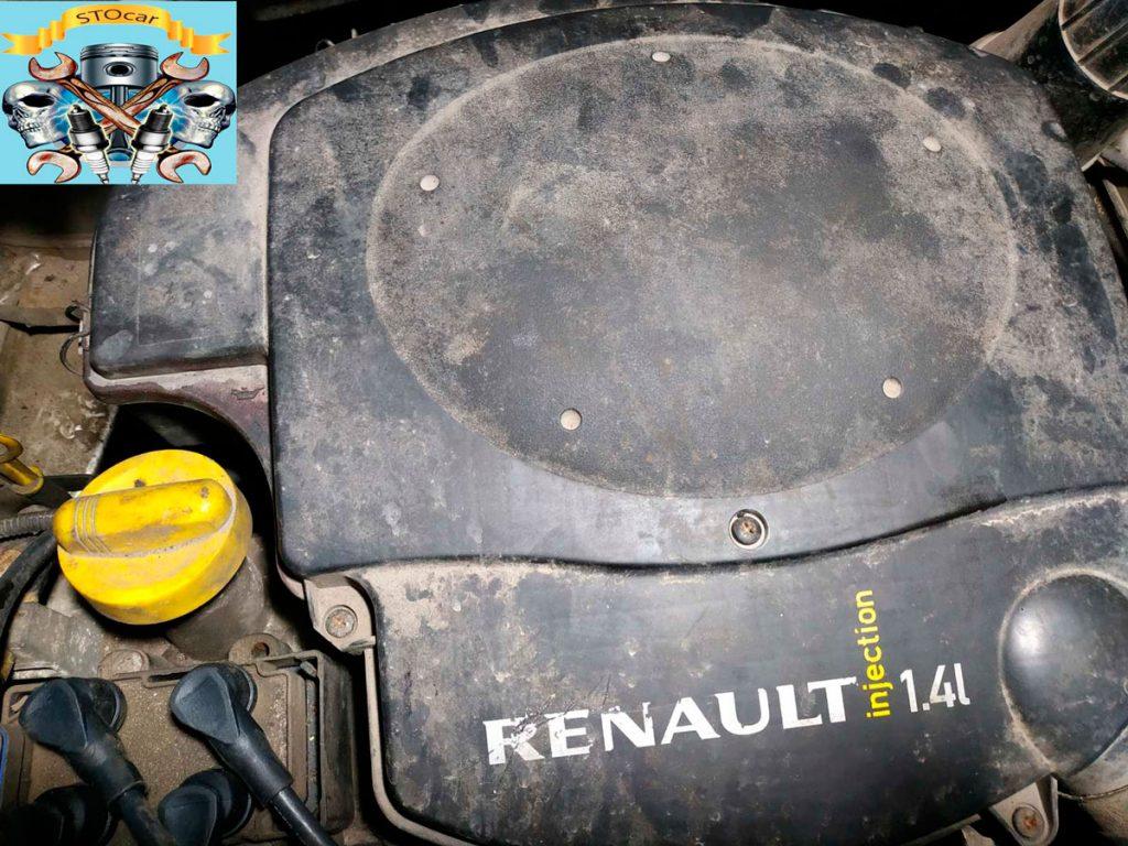 Регулировка клапанов на автомобиле Рено Логан