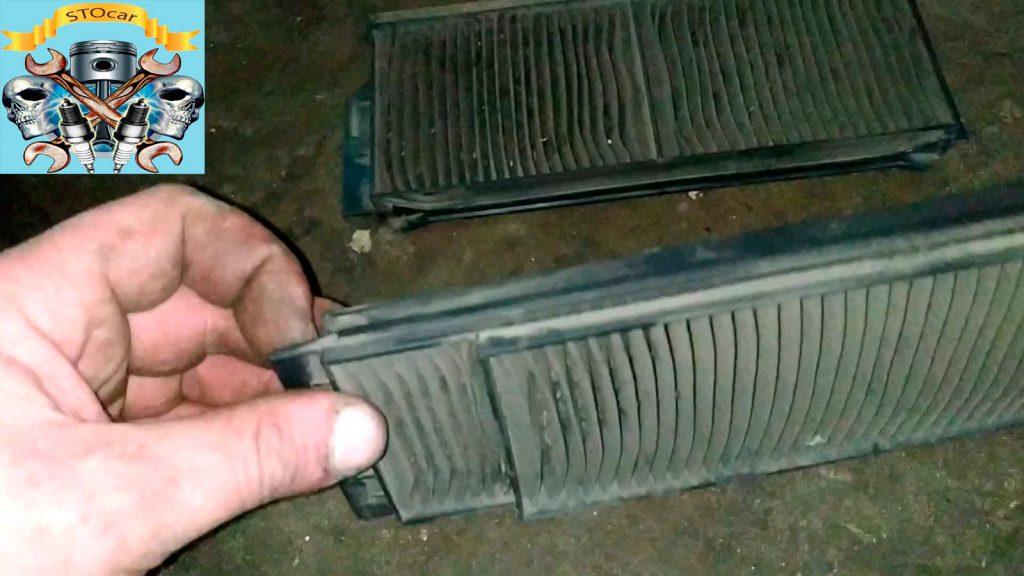 Замена фильтра салона Mazda 3