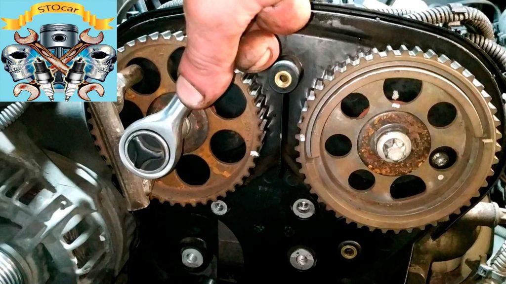 Замена ремня ГРМ, помпы, сальников распредвалов и сальника коленвала на автомобиле Opel Vectra С 1,8 16 клапанов