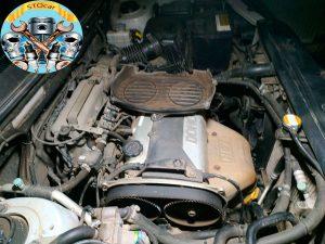 Замена датчика положения коленвала Hyundai Santa Fe