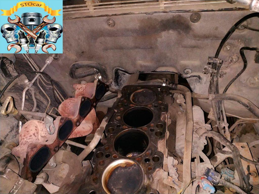Замена прокладки ГБЦ на автомобиле Great Wall Hover Н 3