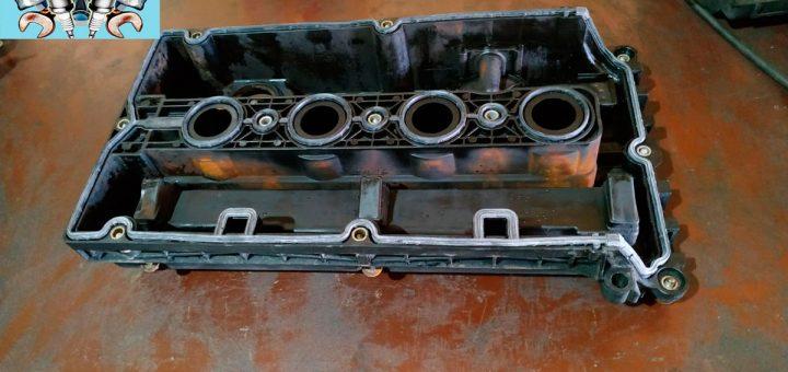 Замена прокладки клапанной крышки opel zafira 1.6i