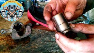 Ремонт тормозного цилиндра суппорта Chevrolet Lacetti