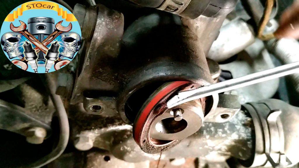 Замена ремня ГРМ Opel Corsa B 1,4