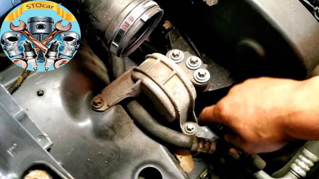Замена ремня ГРМ Opel Zafira XER 18