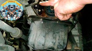 Замена датчика коленвала, а так же ремня ГРМ на автомобиле KIA PICANTO