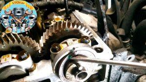 Замена ремня ГРМ Geely CK с двигателем 1.5