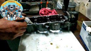 Замена прокладки ГБЦ Daewoo Lanos с двигателем 1.5