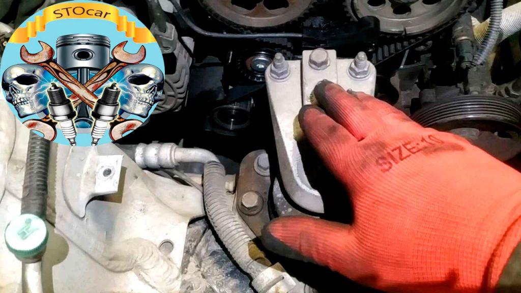 Замена сальников коленвала и распредвалов на автомобиле Chevrolet Lacetti 1,8